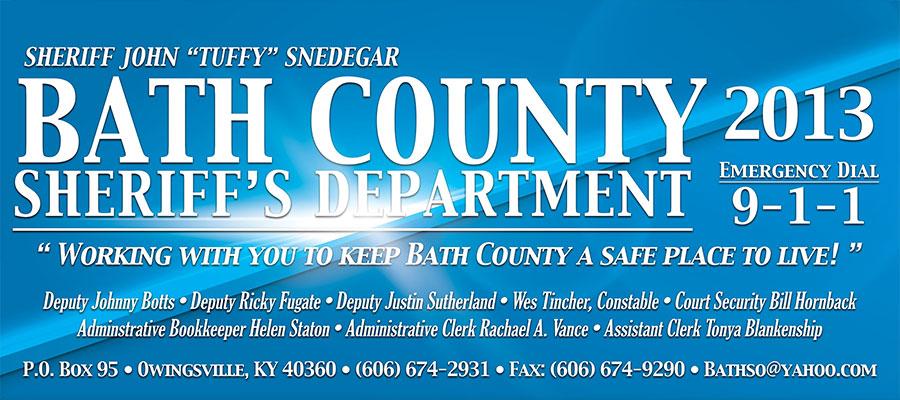 Bath County Sheriff's Department